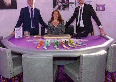 Table de blackjack