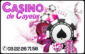 Carte de fidélité du Casino de Cayeux sur Mer
